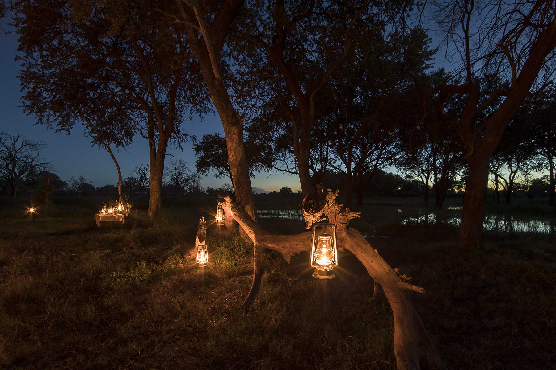 Chase Africa Safaris comfort camp layout