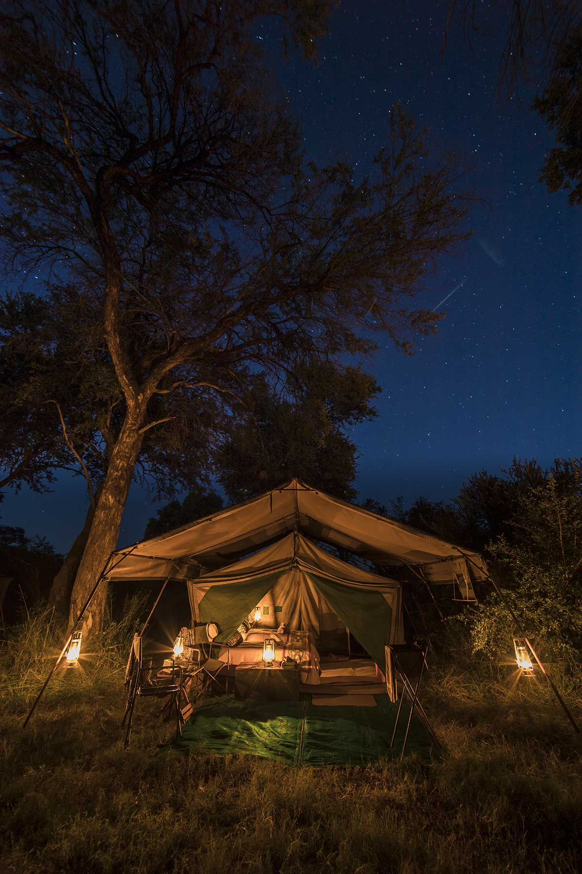 Chase Africa Safaris luxury tent