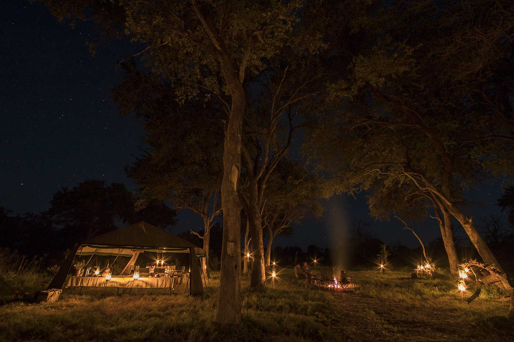 Mobile safari camp Chase Africa Safaris