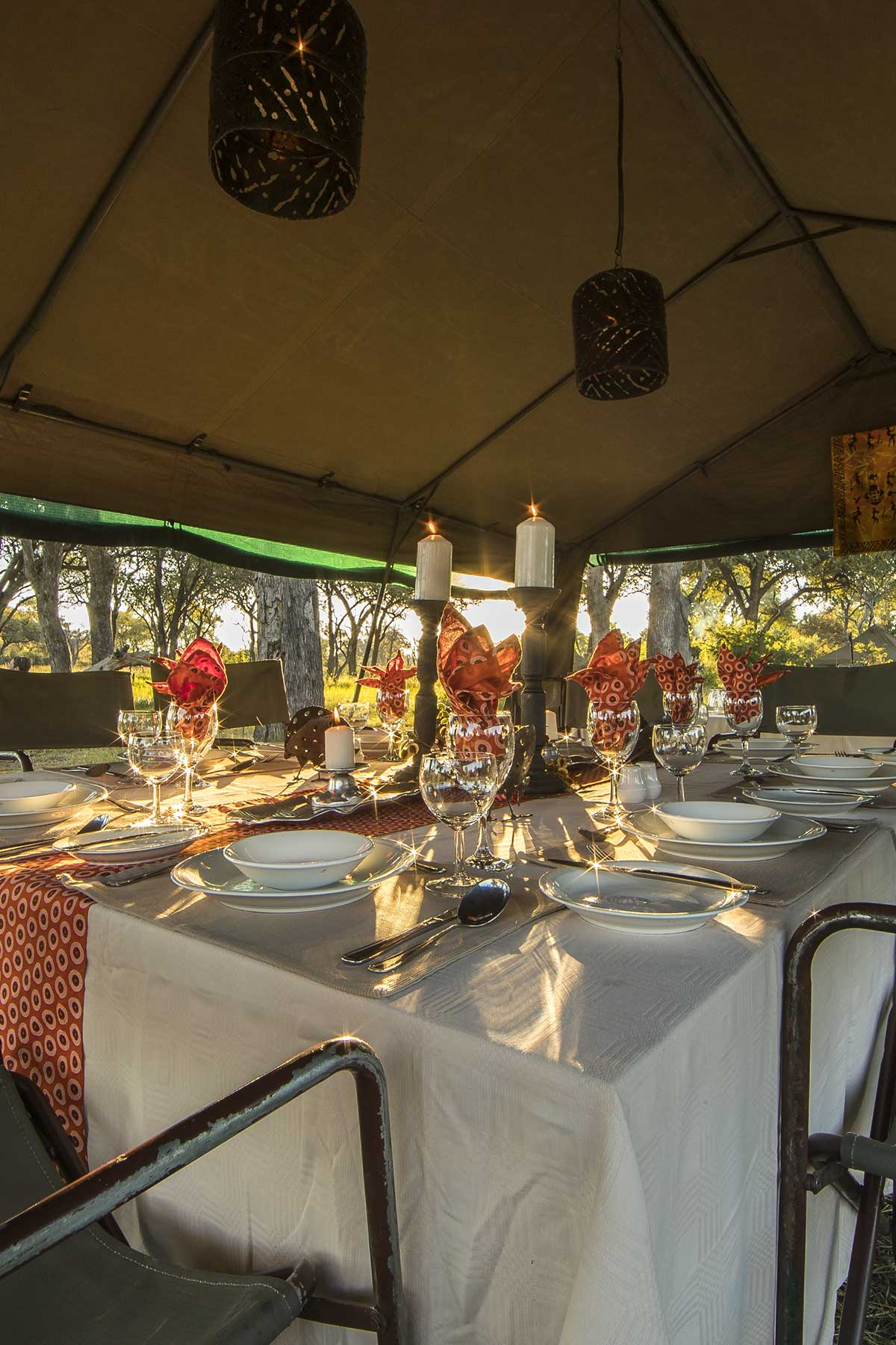 Luxury mobile safaris with Chase Africa Safaris