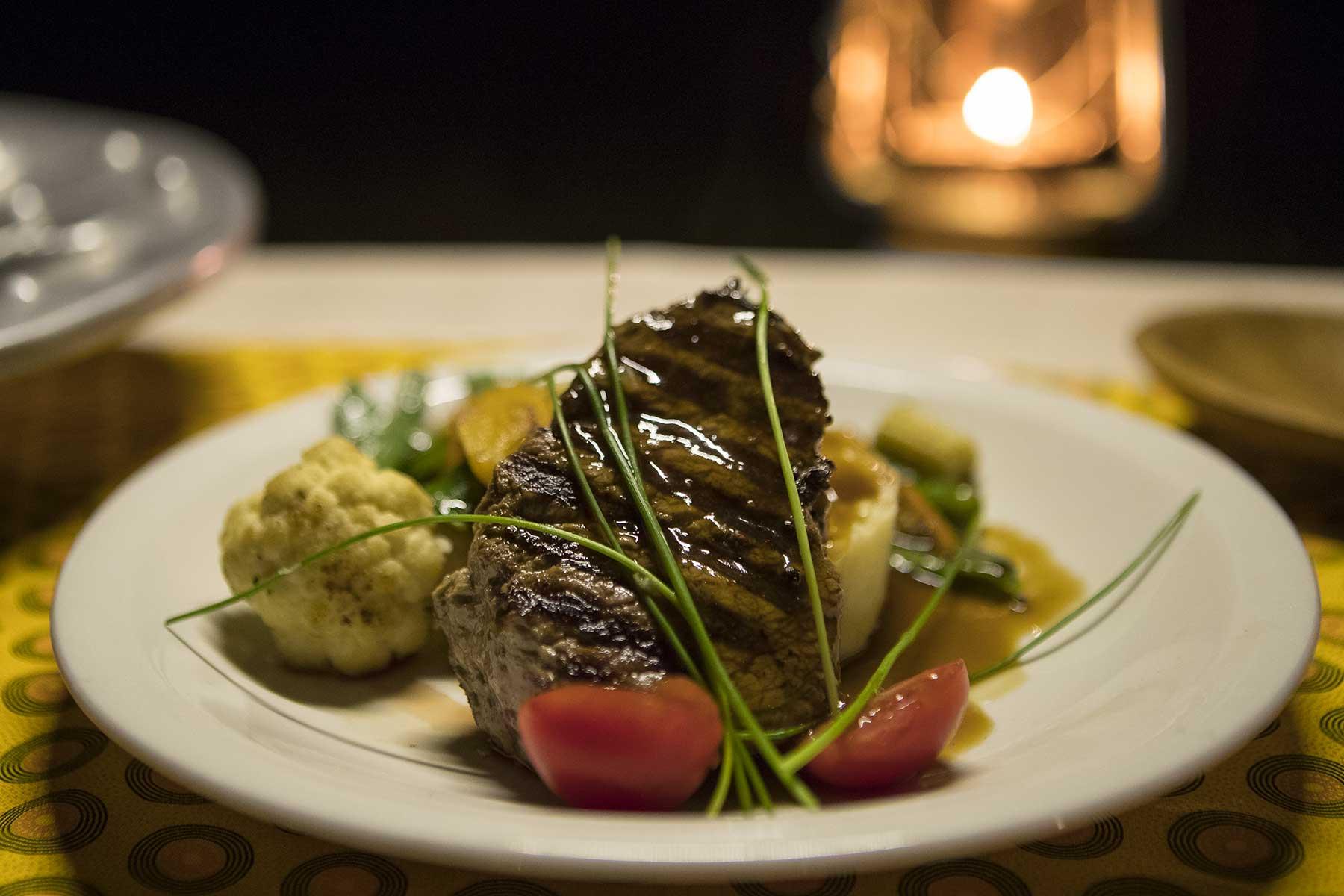 Dinner on Chase Africa Safaris