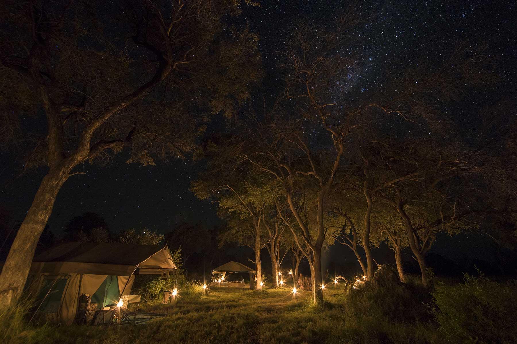 Chase Africa Safaris camp setup