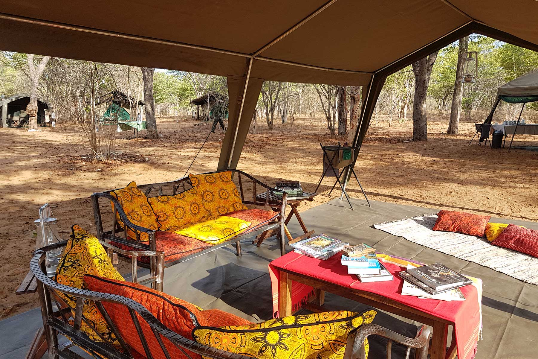 Chase Africa Safaris luxury lounge tent