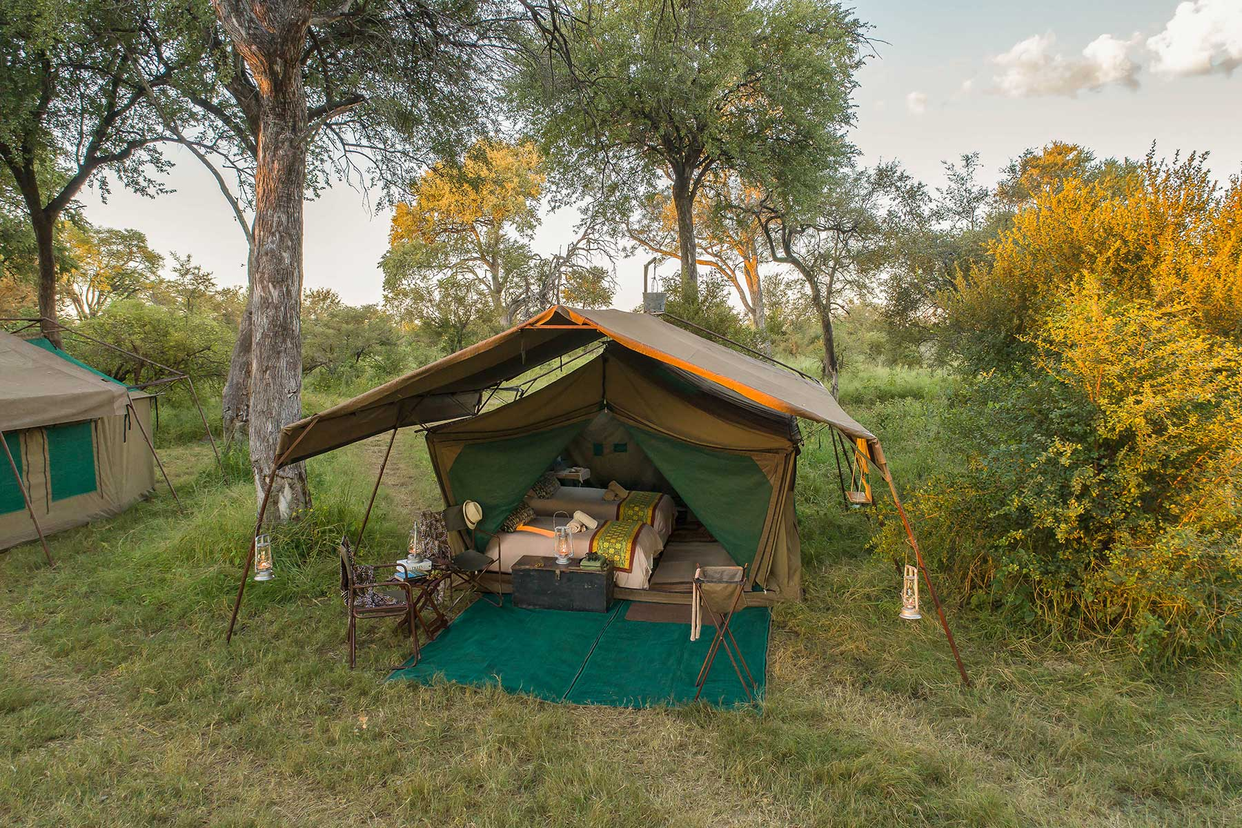 Luxury tent Chase Africa Safaris