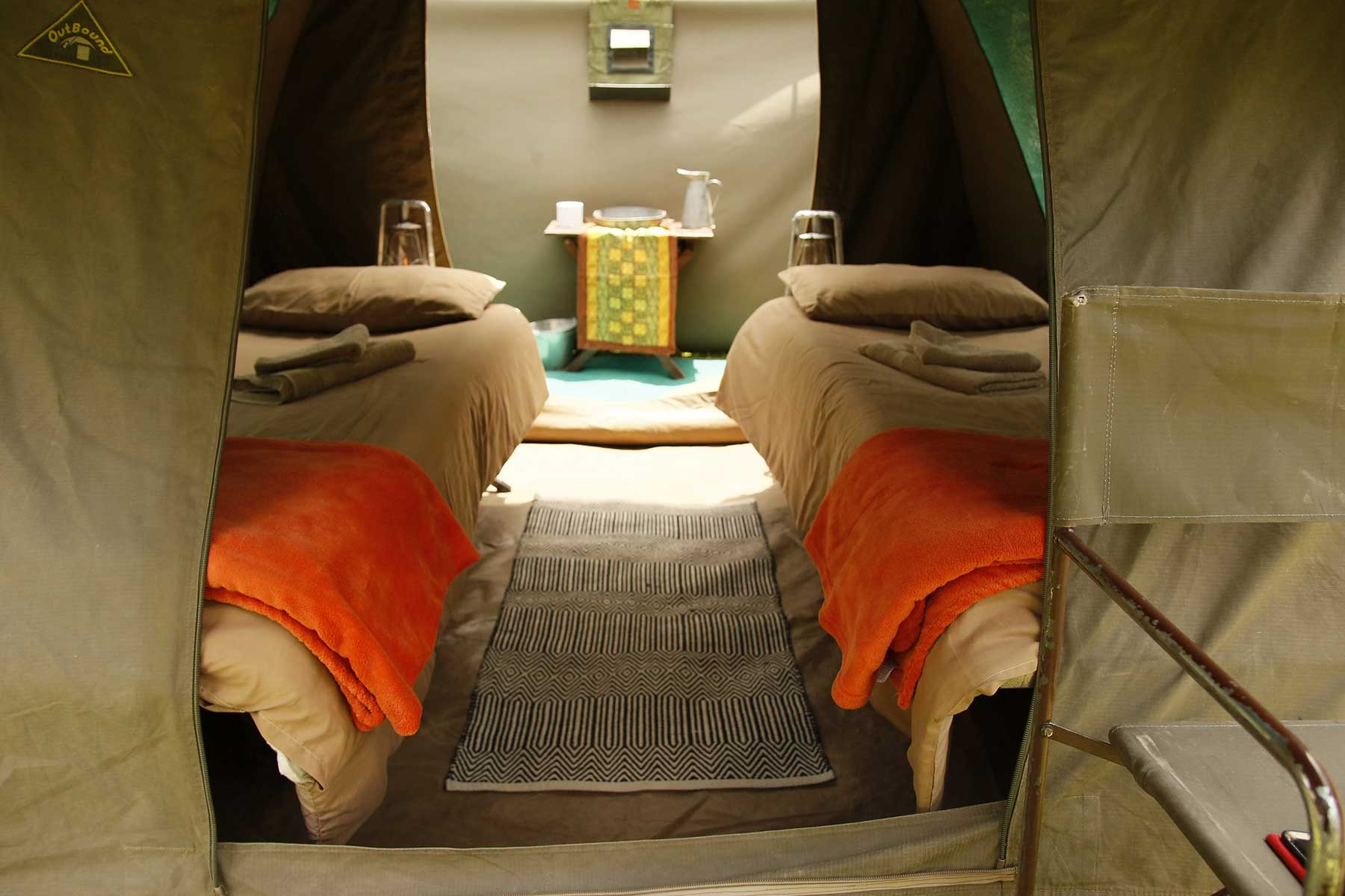 Chase Africa Safaris budget tents