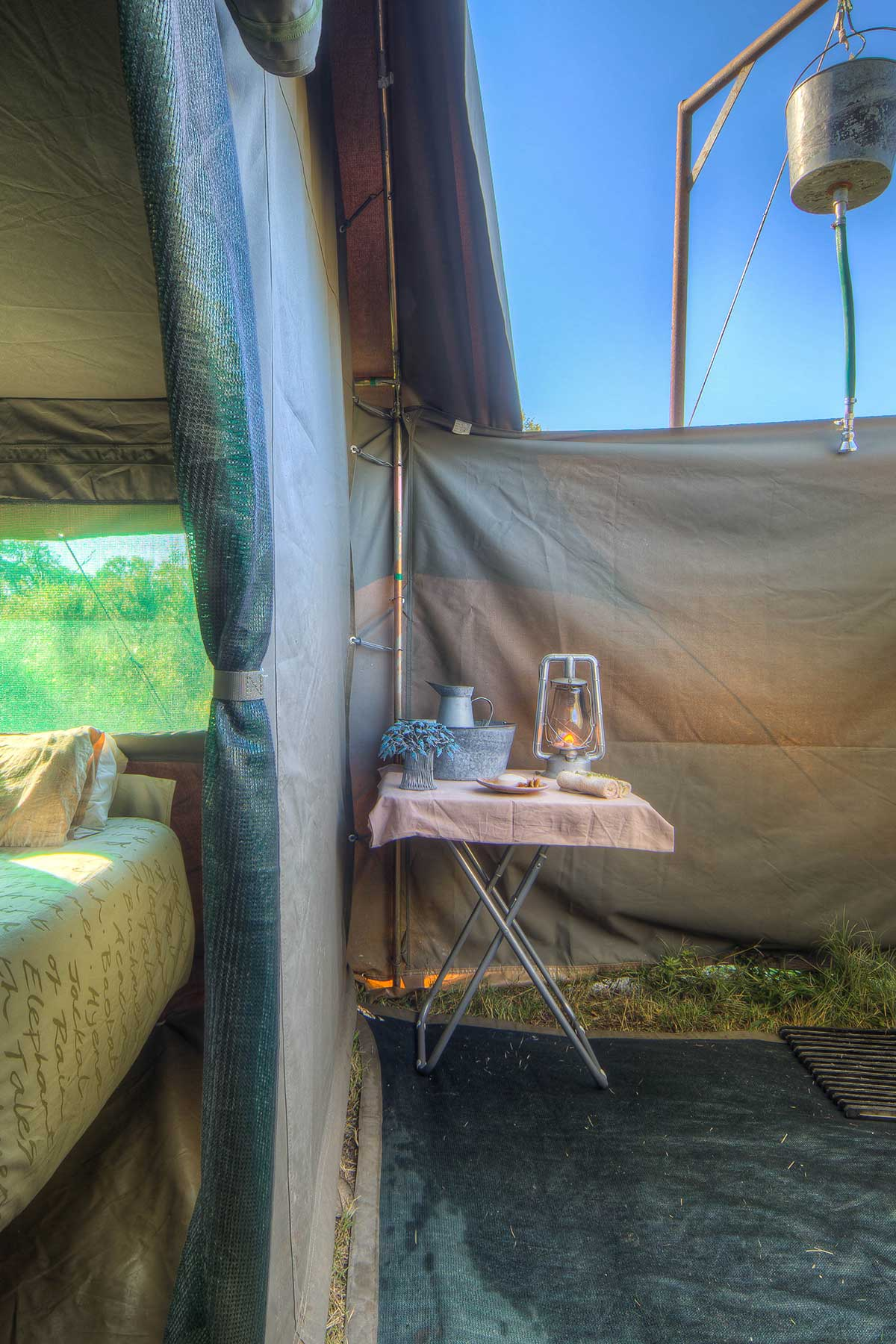 Comfort ensuite tents with Chase Africa Safaris