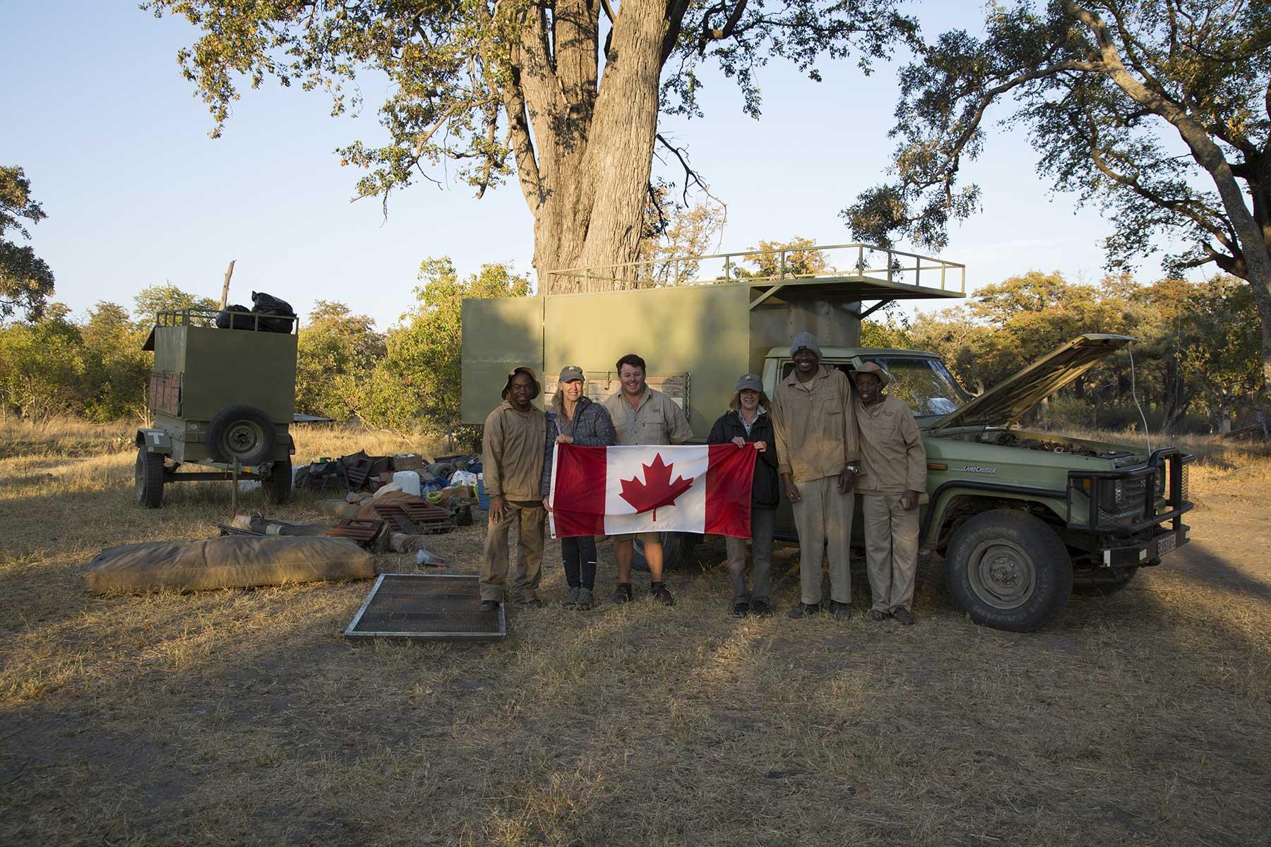 Guests on safari Chase Africa Safaris