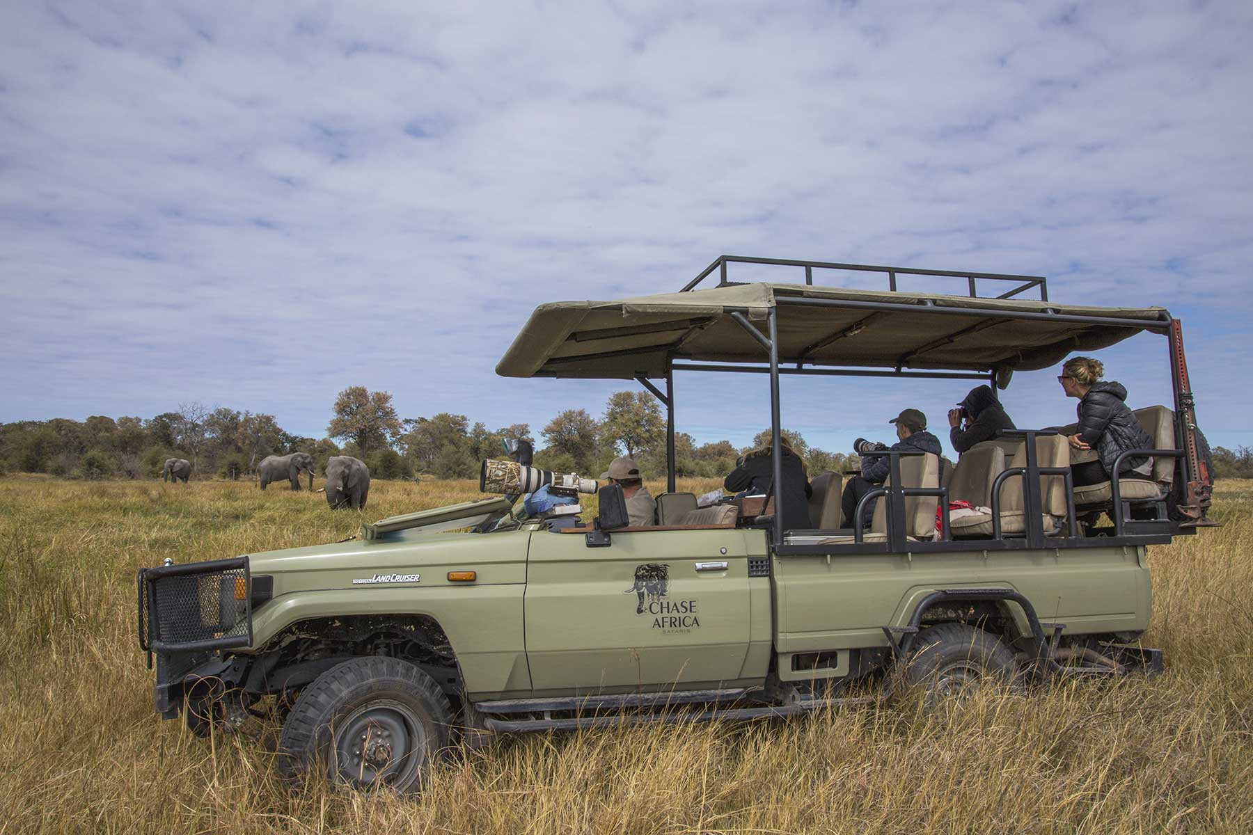Game drive with Chase Africa Safaris